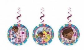 Disney Doc McStuffins hangdecoratie 3 st.