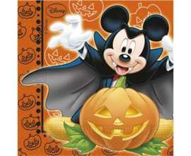 Disney Mickey Halloween servetten 33 x 33 cm. 20 st.
