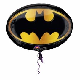 Batman embleem folieballon XL 68 x 48 cm.