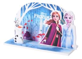 Disney Frozen 2 taart decoratie (niet eetbaar)