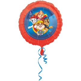 Paw Patrol folieballon Heroes ø 43 cm.