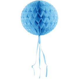 Honeycomb bal lichtblauw ø 30 cm.