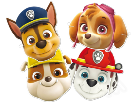 Paw Patrol maskers 6 st.