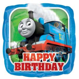 Thomas de Trein folieballon happy birthday ø 43 cm.