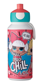 LOL Surprise Mepal pop-up drinkfles 400 ml.