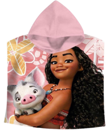 Disney Vaiana bad poncho 60 x 120 cm.
