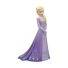 Disney Frozen Elsa taart topper lila 11 cm.
