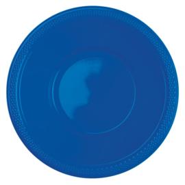 Bright Royal Blue wegwerp schaaltjes 355 ml. 10 st.