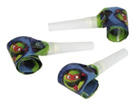 Ninja Turtles roltongen 6 st.