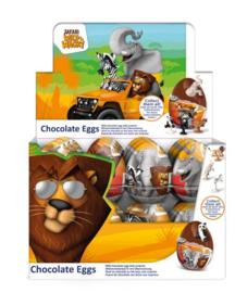 Safari chocolade verrassingsei p/stuk
