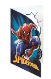 Spiderman wenskaart (blanco)