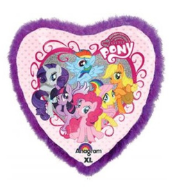 My Little Pony hart folieballon 80 cm.