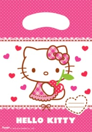 Hello Kitty Hearts traktatiezakjes 6 st.