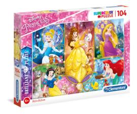 Disney Princess puzzel 104 stukjes