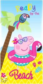 Peppa Pig strandlaken Ready for the Beach 70 x 140 cm.