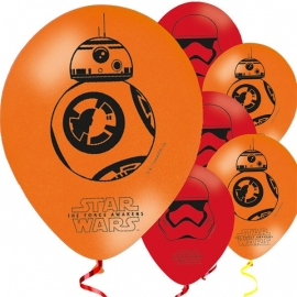 Star Wars The Force Awakens ballonnen ø 28 cm 8 st.
