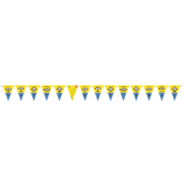 Minions mini vlaggenlijn 3,3 mtr.