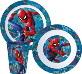 Spiderman diner set 3-delig A