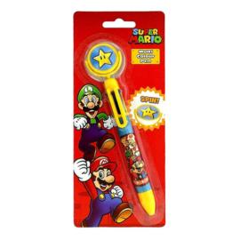 Super Mario Bros meerkleuren pen
