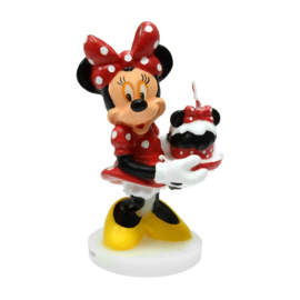 Disney Minnie Mouse taart kaars birthday cake 3D 10 cm.