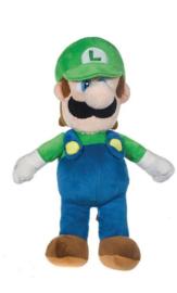 Super Mario Bros pluche knuffel Luigi 35 cm.