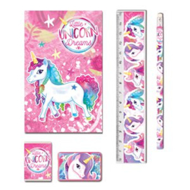 Little Unicorn Dreams schoolset 5-delig