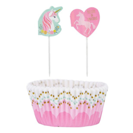 Magical Unicorn cupcake decoratie set