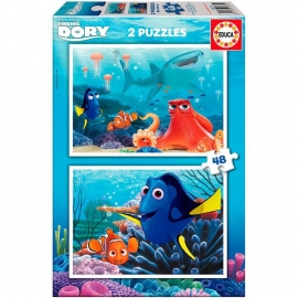 Disney Finding Dory puzzel 48 st. 2x