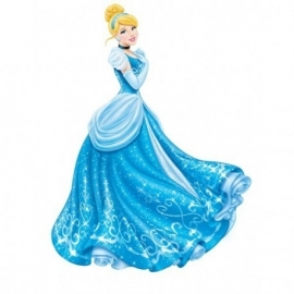 Disney Princess Assepoester hangdecoratie 100 cm.