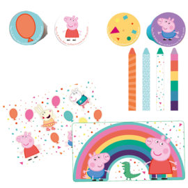 Peppa Pig uitdeelspeelgoed set 16-delig