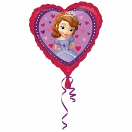Disney Sofia the First hart follieballon 43 cm.