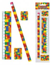Lego Block Party schoolset 4-delig