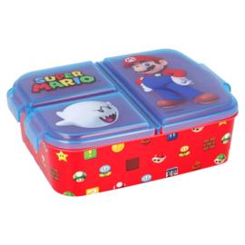 Super Mario Bros lunchbox 3-vaks