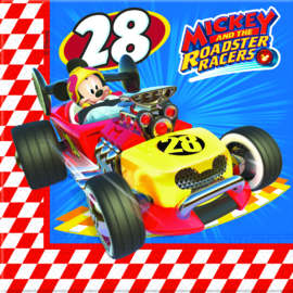 Disney Mickey and the Roadster Racers servetten 33 x 33 cm. 20 st.