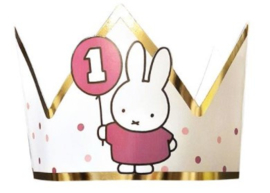 Nijntje kroontje mijn eerste verjaardag girl