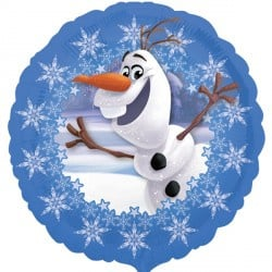 Disney Frozen Olaf folieballon party ø 43 cm.