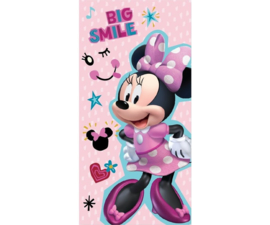 Disney Minnie Mouse strandlaken Big Smile 67 x 137 cm.