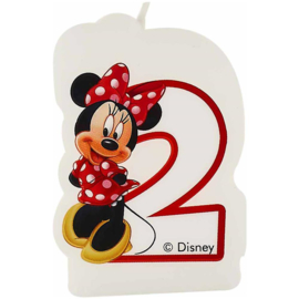 Disney Minnie Mouse 2e verjaardags kaars