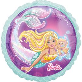 Barbie folieballon Dreamtopia ø 43 cm.