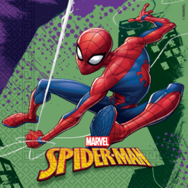 Spiderman Team Up servetten 33 x 33 cm. 20 st.