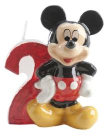Disney Mickey Mouse Clubhouse 2e verjaardag taart kaars