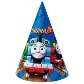 Thomas de Trein feesthoedjes 6 st.