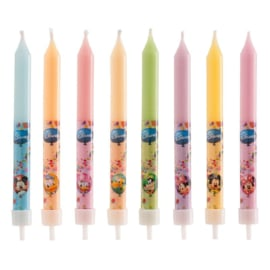 Disney Mickey Mouse and friends taart kaarsjes 8 st.