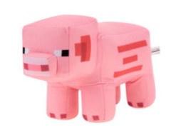 Minecraft knuffel Pig 28 x 19 cm.
