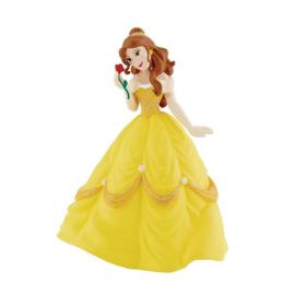 Disney Princess Belle taart topper decoratie 10 cm.