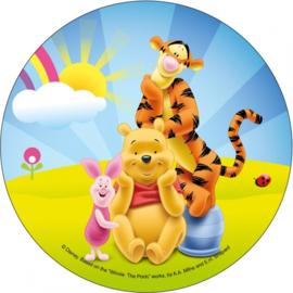 Disney Winnie de Poeh and friends ouwel taart decoratie B ø 21 cm.