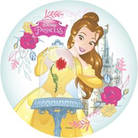 Disney Belle en het Beest taart en cupcake decoratie