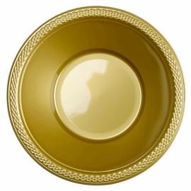 Gouden wegwerp schaaltjes 355 ml. 10 st.