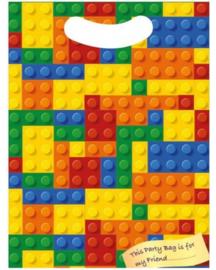 Lego Building Brick traktatie zakje 10 st.