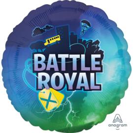 Battle Royal folieballon ø 43 cm.